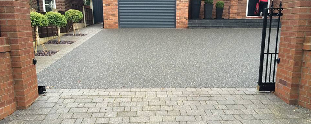 resin driveway and argeant block
