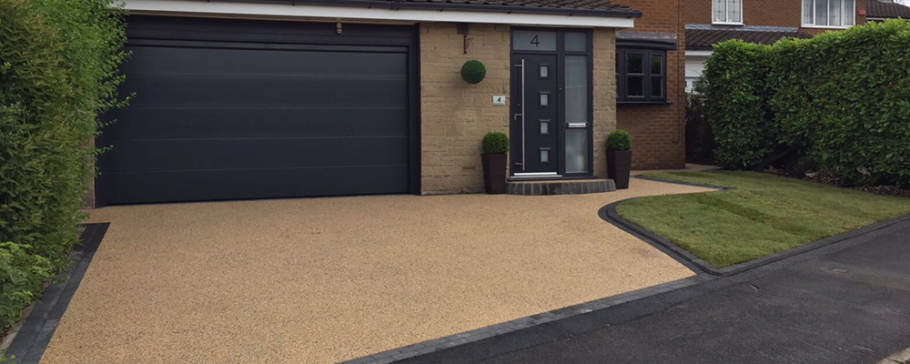 resin driveway extension